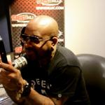 Jermaine Dupri visits DJ CO1 at 98.5 KLUC