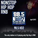 98.5 HD 2 – Hip Hop and R&B – April 2015