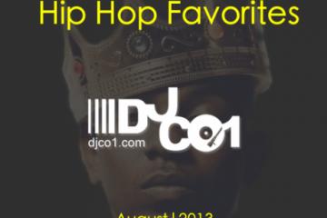 hip-hop-favs-aug-2013