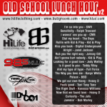 KLUC – Old School Lunch Hour v2